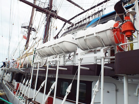 Polish-built ship for VN Navy arrives