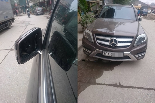 Police seized car accessories of unclear origin