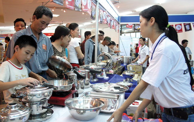 Thai products popular in domestic market