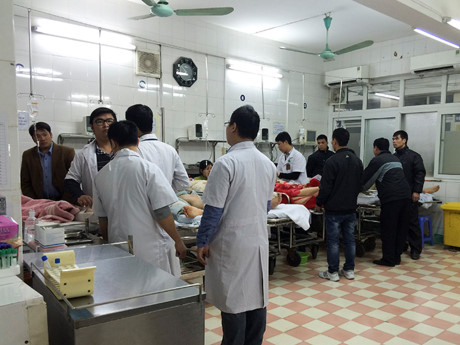 Hospitals cope with Tet patient influx