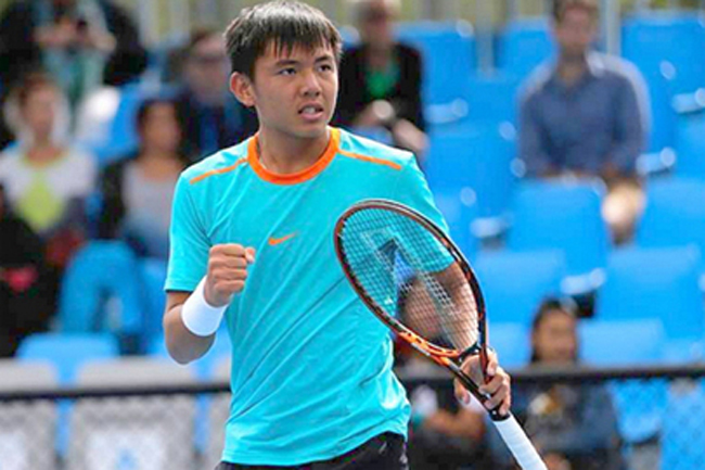 Ly Hoang Nam knocked out of doubles event in China
