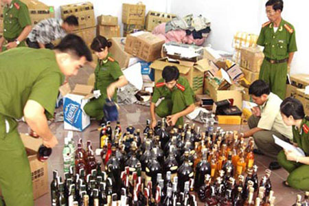 Goods smuggling increases ahead of Tet