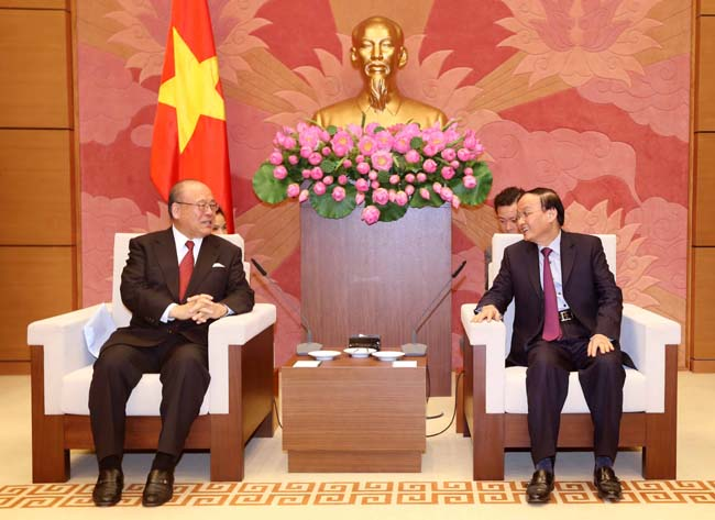 Viet Nam Japan parliamentary groups boost links