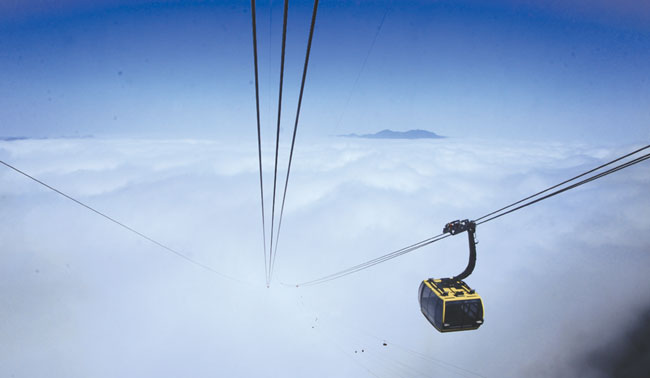 Worlds longest cable car opens in Lao Cai