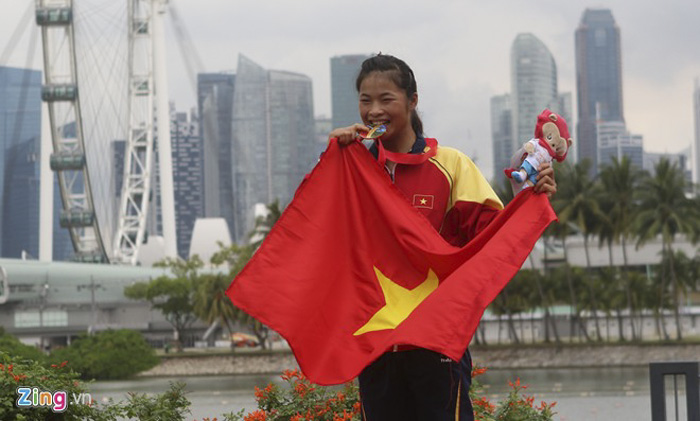 Phuong is new face of Vietnamese canoeing