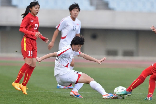 VN women lose to North Korea