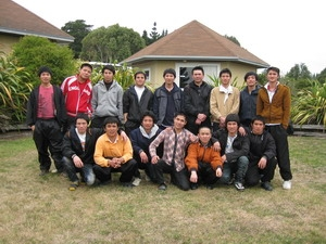 Vietnamese crewmen come home from New Zealand