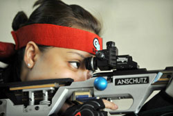 Six prep for Asian shooting event