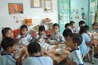 Industrial zones lack childcare facilities