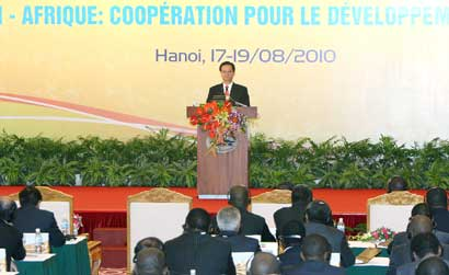 PM foresees bright future for co-operation with Africa