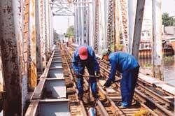 Rail upgrade begins