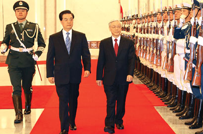 Party leader arrives in China to boost mutual understanding