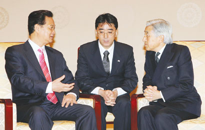 PMs visit 'helps bolster partnership with Japan