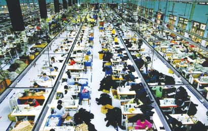 Garment sector aims high