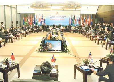 ASEAN meetings end on high note