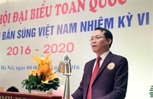 Bình elected president of Việt Nam Shooting Federation