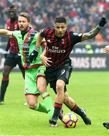Lapadula saves Milan blushes with Crotone winner