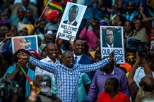 Zimbabwes next leader says post-Mugabe era is full democracy