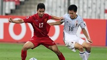 U20 Việt Nam striker featured on FIFA website
