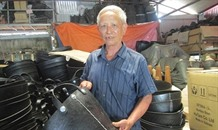 Old man turns trash into green profitable treasure