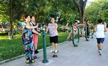 Hà Nội suburbs await outdoor gyms playgrounds