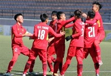 VN Morocco draw in South Korean U-19 tournament