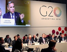 G20 urges dialogue to resolve trade tensions that threaten growth