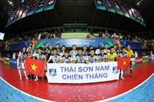 Thái Sơn Nam finish runners-up at Asian futsal champs