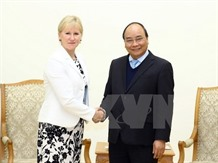 PM meets Swedish foreign minister