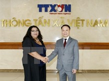 VN Mongolia news agencies ink deal